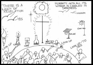 Sowercartoons JESUS – OUR LIGHT