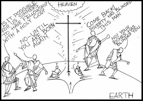 Sowercartoons JESUS – THE ONLY MEDIATOR