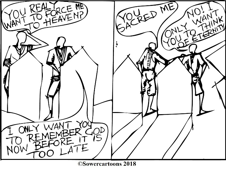 Sowercartoons THE NEED FOR AFFIRMATION