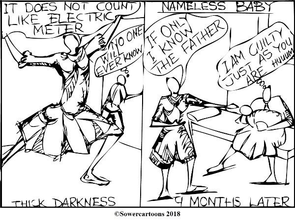 Sowercartoons SIN COMES OUT PUBLICLY (2)