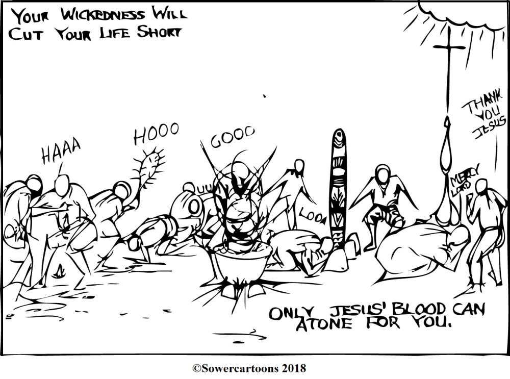 Sowercartoons THE WICKEDNESS OF MANKIND