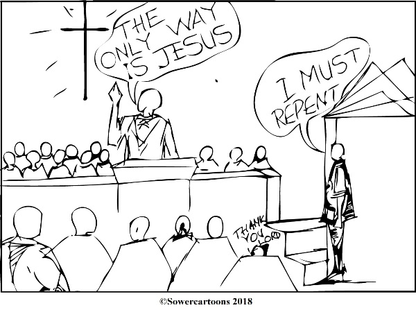 Sowercartoons THE MEEK AND LOWLY JESUS