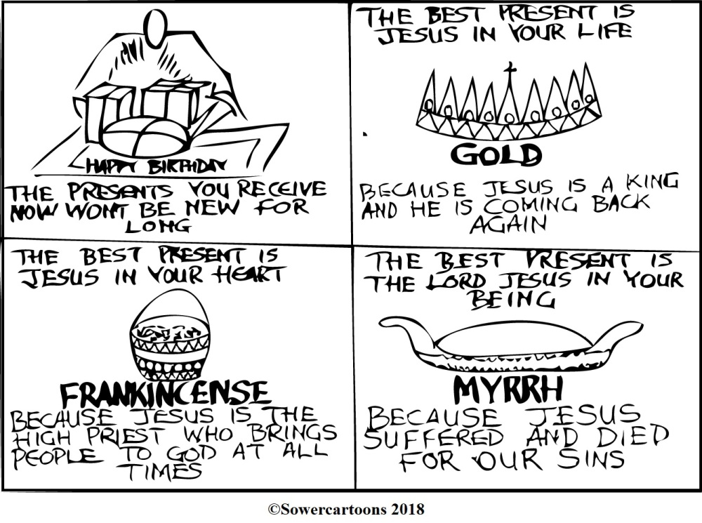 Sowercartoons THE BEST PRESENTS
