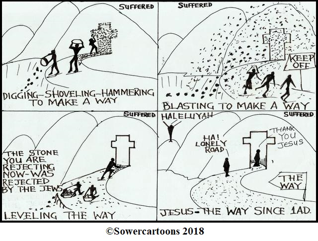 Sowercartoons THE GREAT SALVATION TUNNEL